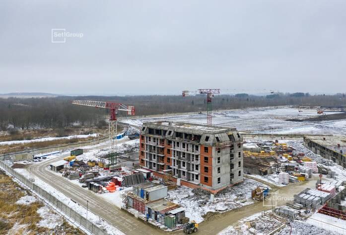 Завершаются работы по проекту организации строительства, выполнено 95%.