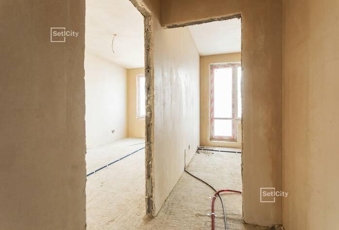 Завершены работы по устройству каменной кладки стен.