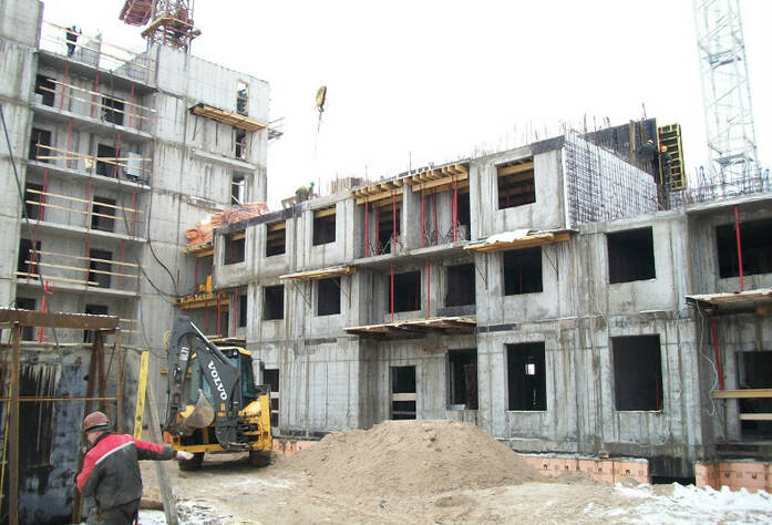 Строительство ЖК «Правый берег»