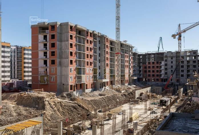 Продолжаются работы по устройству железобетонных конструкций 3-8 этажей.