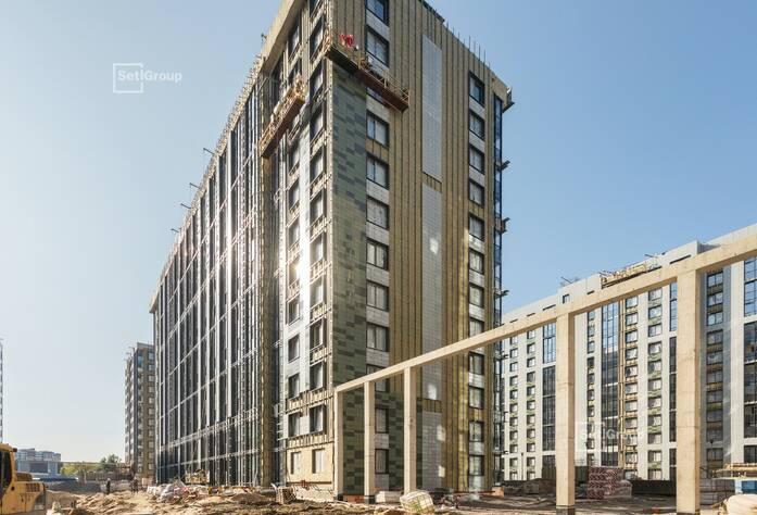 Закончены работы по линейному монтажу электрических и слаботочных сетей в квартирах и МОП.