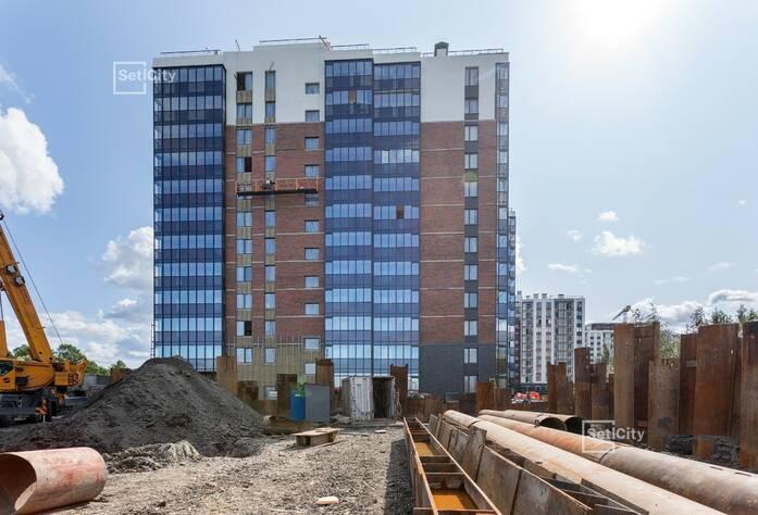 Завершены работы по устройству «мокрого» фасада здания.