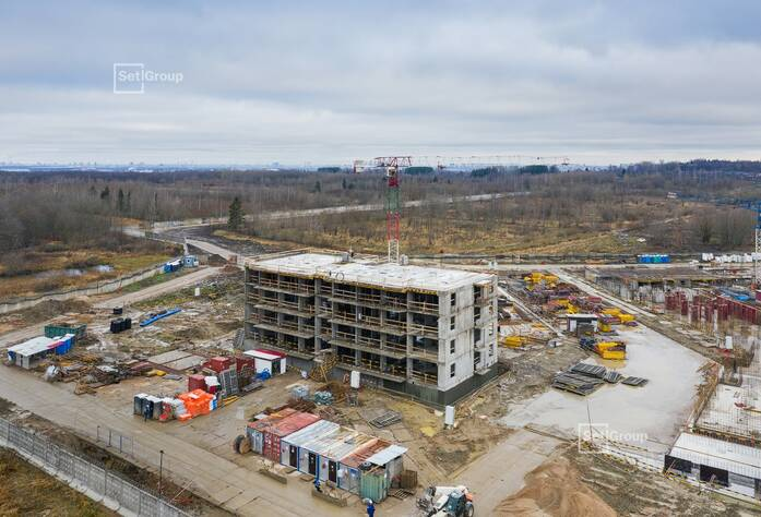 Продолжаются работы по проекту организации строительства.