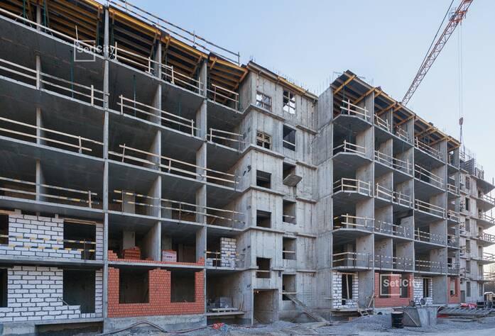 Завершены работы по устройству 2-4 этажей.