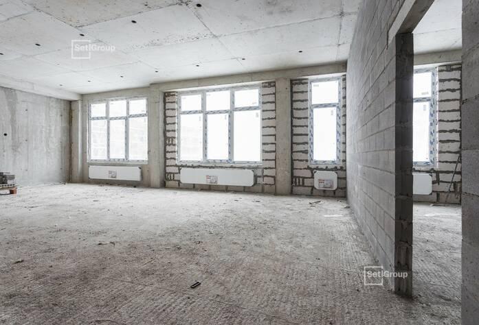 Завершены работы по устройству монолитных конструкций надземной части здания 3 и 4 блоков на уровне кровли.