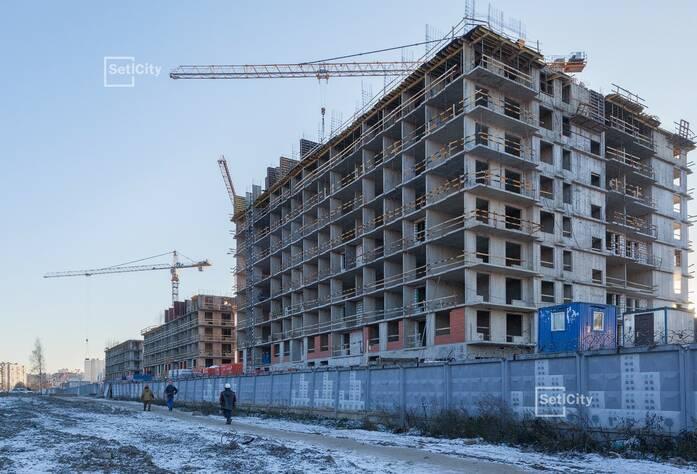 Завершены работы по устройству 7-9 этажей.