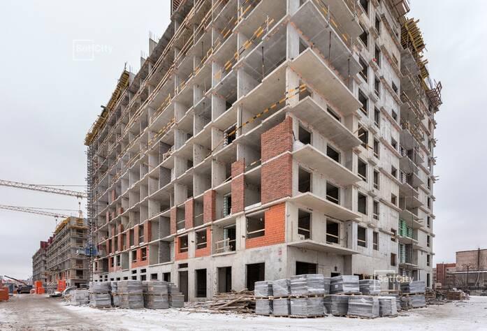 Завершены работы по устройству 10-11 этажей.