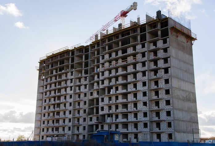 """Возведение 12 этажа  ЖК """"Nordica""""."""