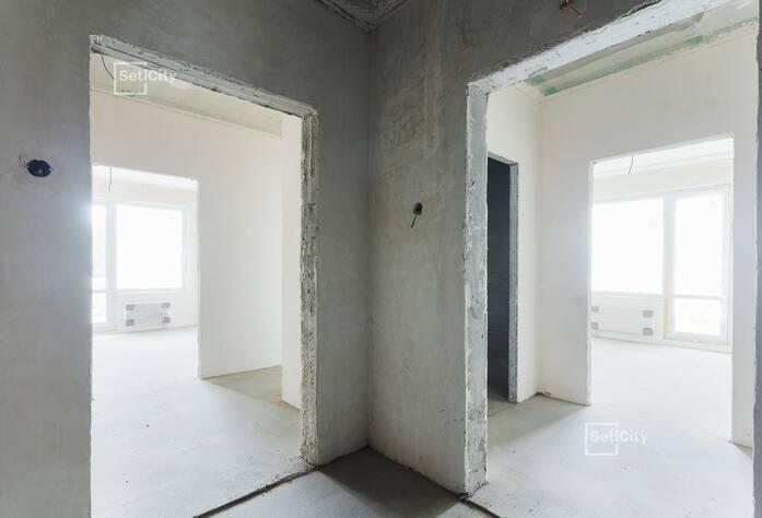 Завершены работы по армированию и бетонированию стен.
