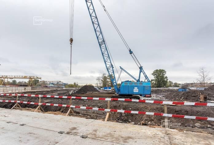 Ведутся работы по проекту организации строительства, готовность 70%.