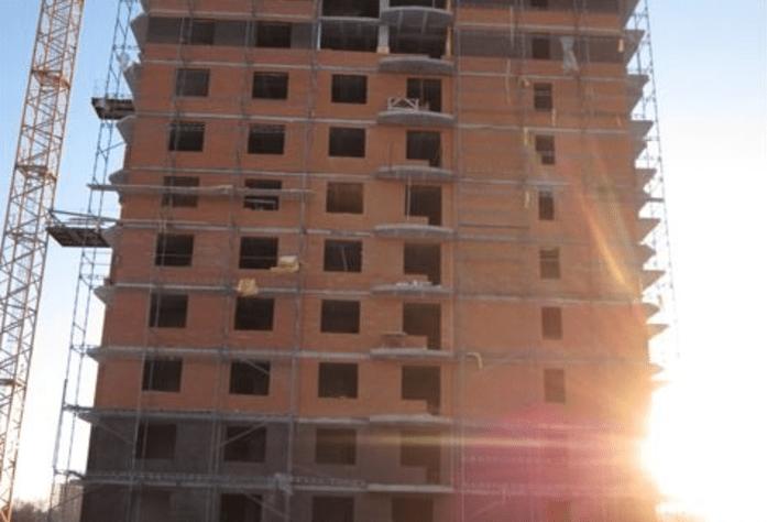 Строительство жилого комплекса «Ижора Парк»