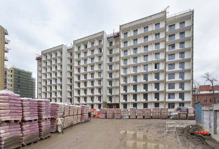 Завершены работы по линейному монтажу электрической сети квартир.