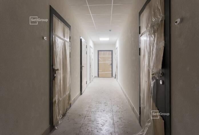 Завершены работы по устройству установочных коробов и базы квартирных электрощитов.