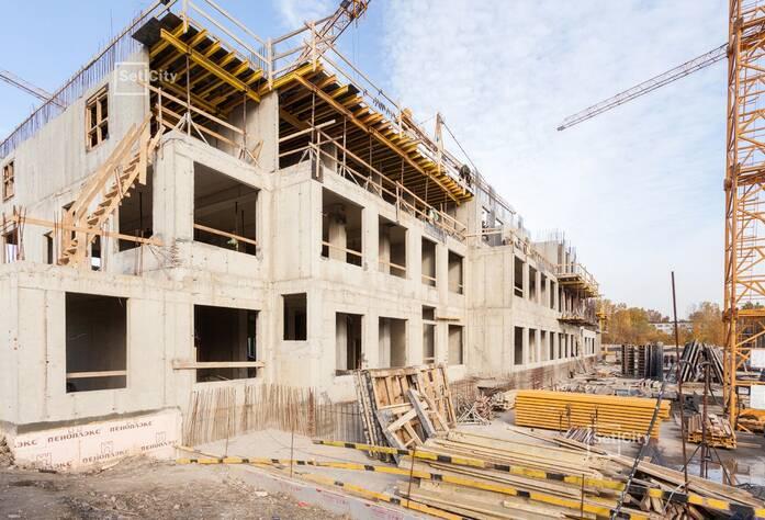 Закончены работы по устройству 1 и 2 этажей.
