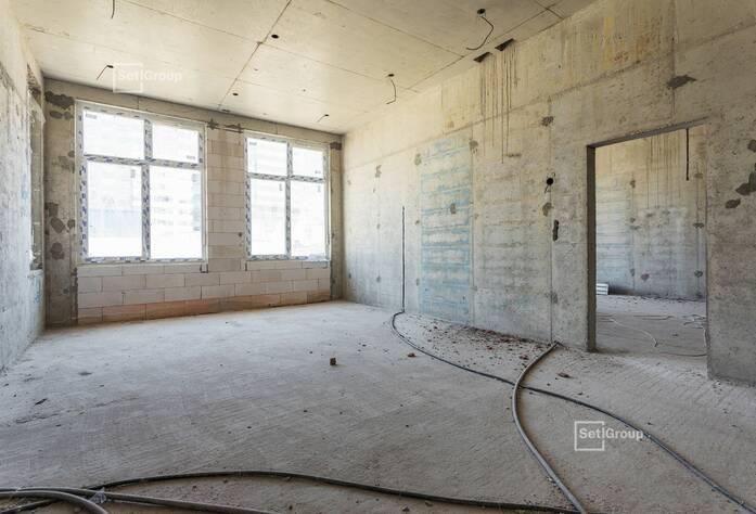 Завершены работы по кладке наружных и внутренних стен.