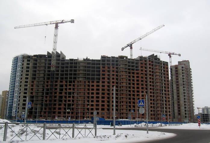 Строительство ЖК «Балтийская волна»