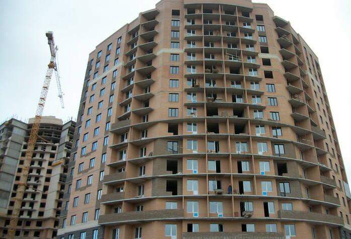 Строительство ЖК «Академ-Парк» (сентябрь 2011г.)