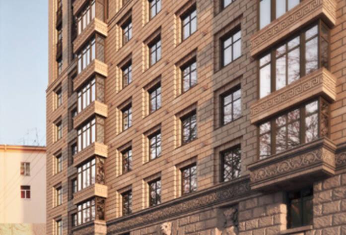 Проект жилого комплекса на Победы, 5