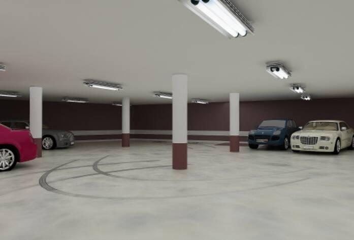 Проект подземной парковки жилого комплекса «Династия»