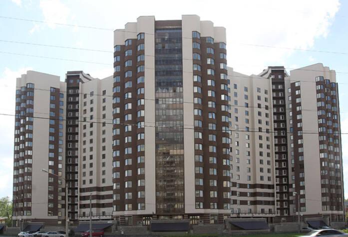 Фасад жилого комплекса «Южная Корона»