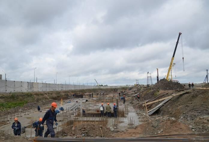Строительство жилого комплекса «Ленинский парк»