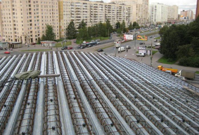 <p>Ход строительства, сентябрь 2010г.</p>