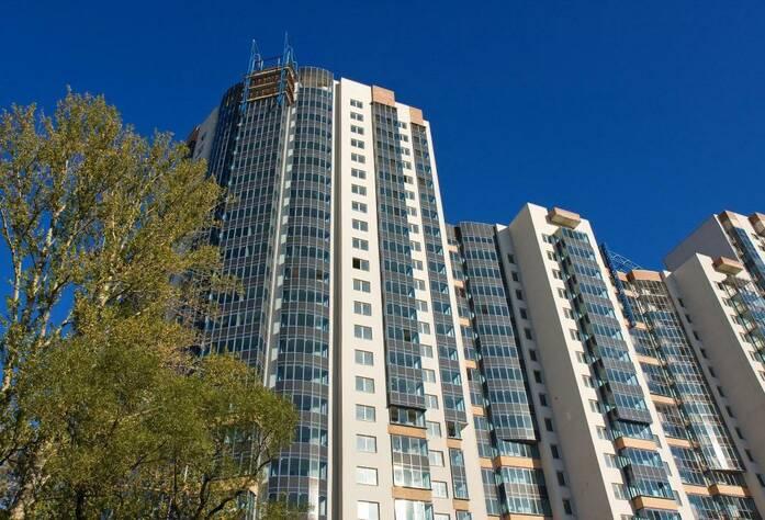 <p>Общий вид жилого комплекса &quot;Монплезир&quot;</p>
