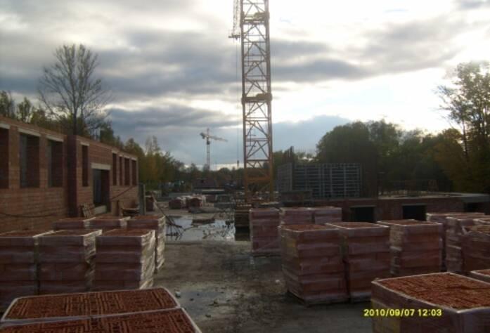 Стройплощадка жилого комплекса «Династия»