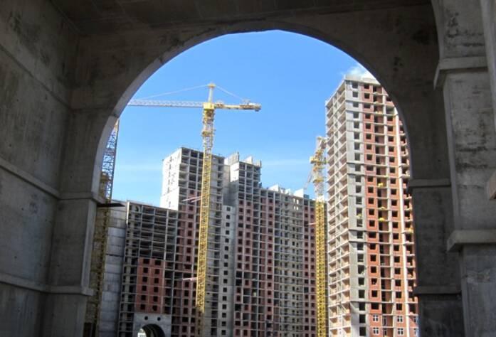 Строительство жилого комплекса «Лондон Парк»