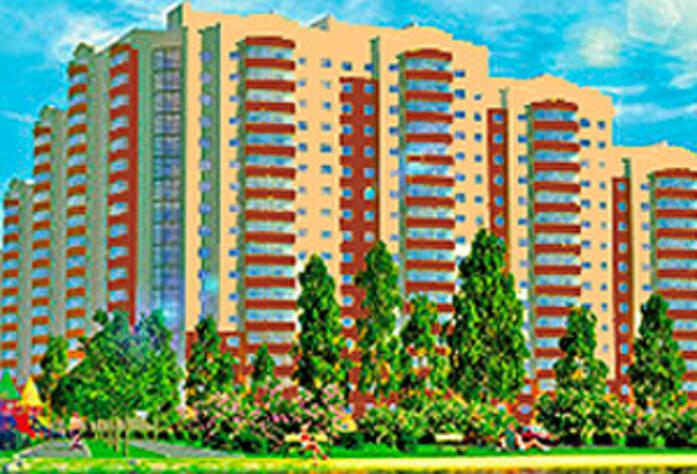 ЖК «Дом у озера» - макет фасада