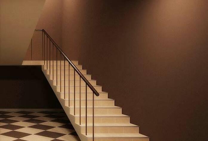 <p>Проект интерьера лестничного пролёта жилого дома на Арсенальной</p>