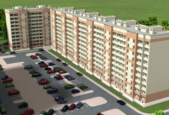 ЖК «в посёлке Ленсоветовский»: визуализация
