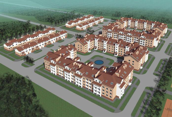 <p>План застройки территории жилого комплекса «Рай в шалаше»</p>