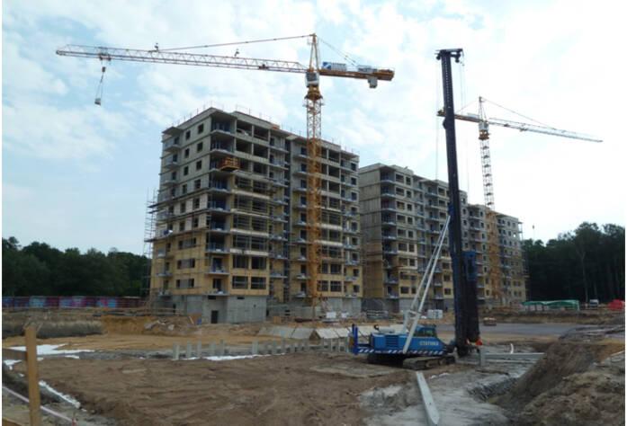 Строительство ЖК «Шведская крона»