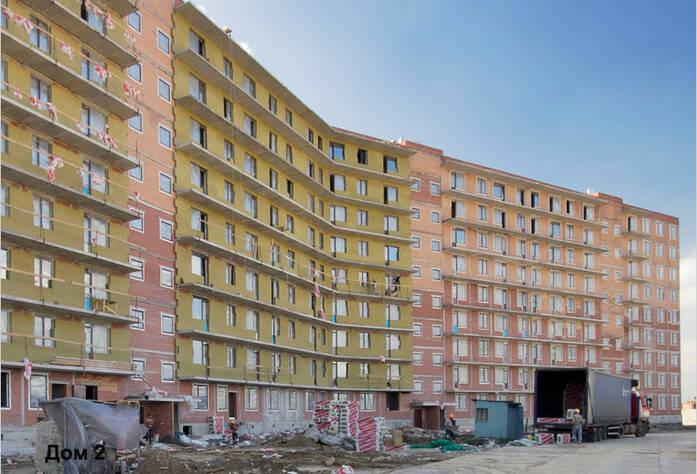 Строительство ЖК «Семь столиц», квартал ВЕНА