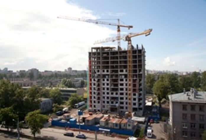 Строительство жилого комплекса «Кронштадтский форт»