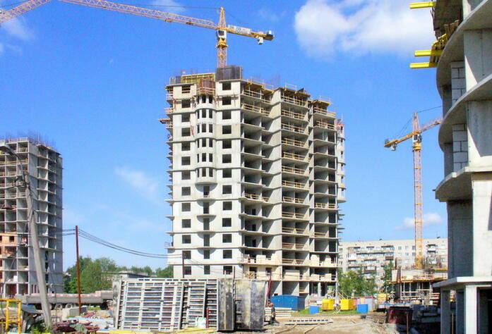 Строительство ЖК «Академ-Парк» (июнь 2011г.)