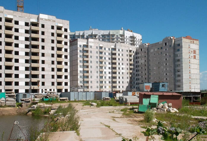 Строительство ЖК «Забугорье»