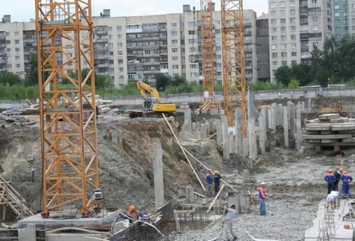 Строительство  МФК «YE'S»