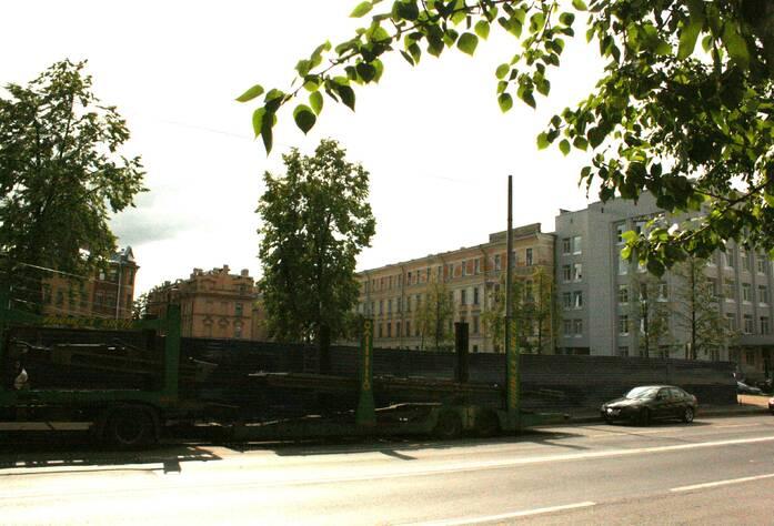 Строительство ЖК «На Гребецкой» (10.05.2013 г.)