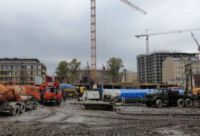 Строительство ЖК «Галант» (15.05.2013)