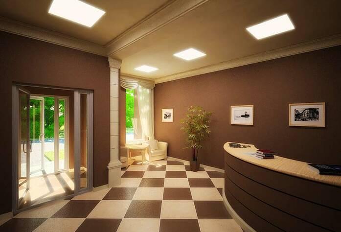 <p>Проект интерьера холла парадной жилого дома на Арсенальной</p>