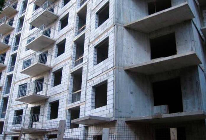 <p>Строительство жилого дома в Коломягах</p>