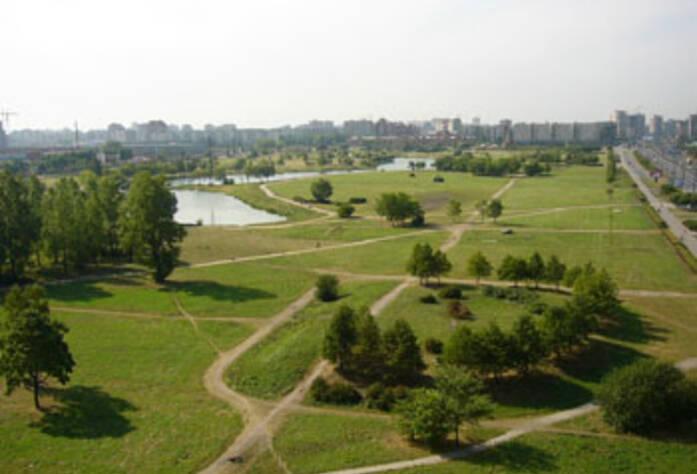 Окрестности жилого комплекса «Славбург»