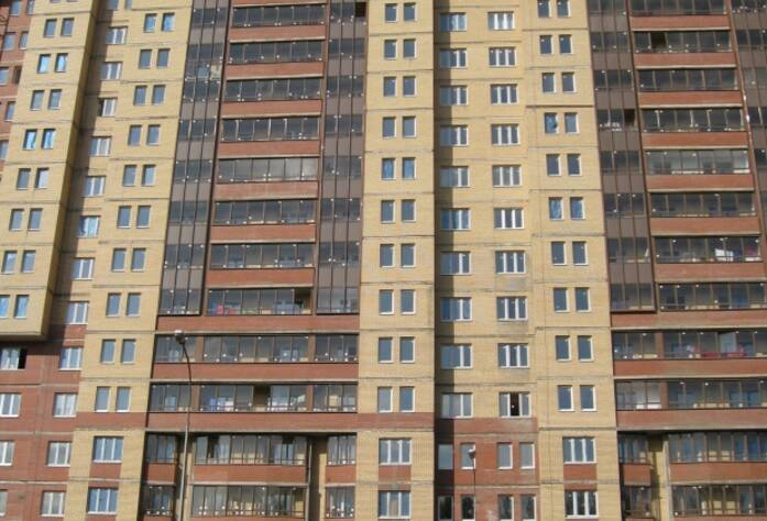 Фасад жилого комплекса «Дом на Дунайском проспекте»