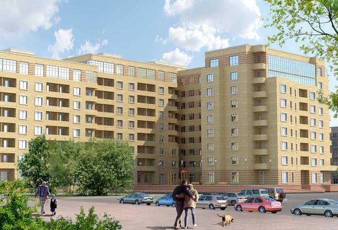 <p>Визуализация проекта фасада жилого комплекса &laquo;Привилегия&raquo;</p>