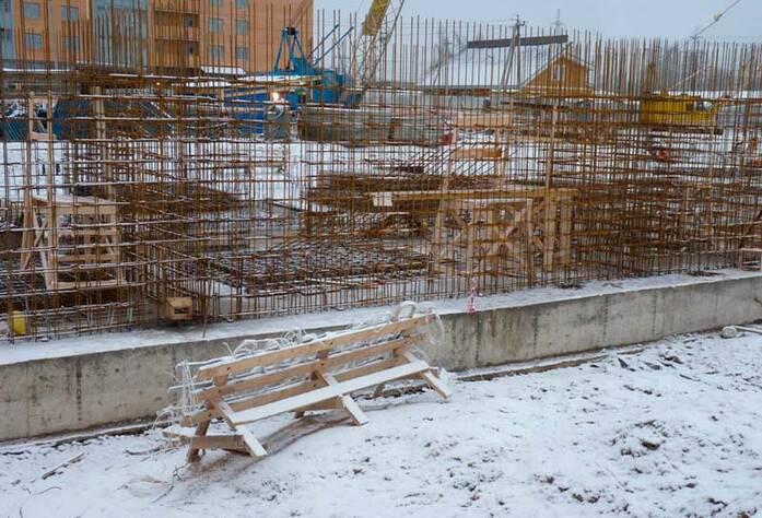 Строительство жилого комплекса «Эланд»