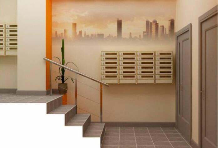 Визуализация проекта входной группы жилого комплекса «Лондон Парк»
