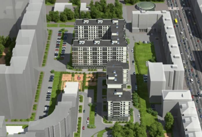 План застройки жилого комплекса«Новомосковский»
