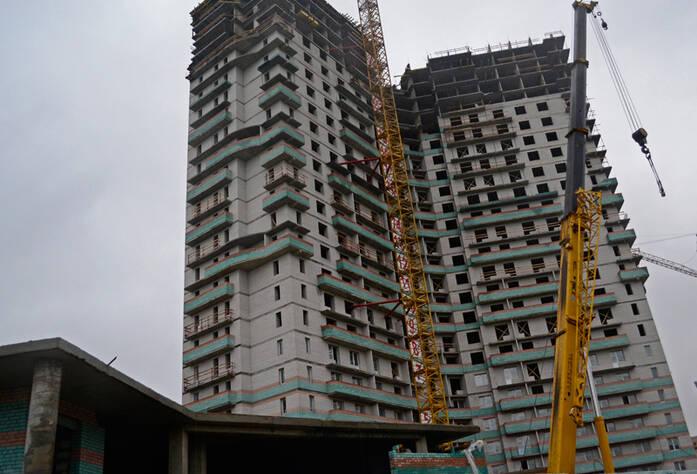 <p>Строительство жилого комплекса «Лахта»</p>